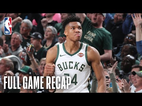 PISTONS vs BUCKS | Milwaukee Turns It Up in The 2nd Half | Game 2