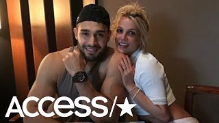 Britney Spears' Boyfriend Sam Asghari Reveals The Hilarious Way He Broke The Ice | Access