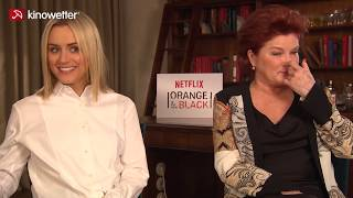 Interview Taylor Schilling, Kate Mulgrew ORANGE IS THE NEW BLACK