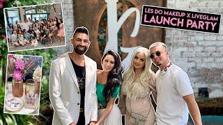 Les Do Makeup x LiveGlam KissMe Launch Party *LAURA CRIES*