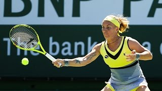 WTA R3 Highlights: Kuznetsova Vs. Vinci