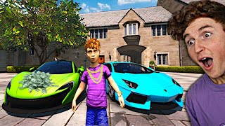 Playing As The RICHEST KID In GTA 5.. (Mods)