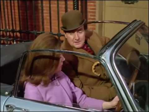 Youtube video - Steed drops by Emma's flat but she breezes past him at the door, telling him, 'I'm needed - elsewhere!'