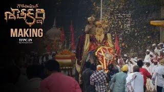 Gautamiputra Satakarni Movie Making : Balakrishna, Krish..