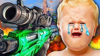1V1 TROLLING ANGRIEST TRY HARD WHO RAGE QUITS! (Black Ops 3 Trolling)