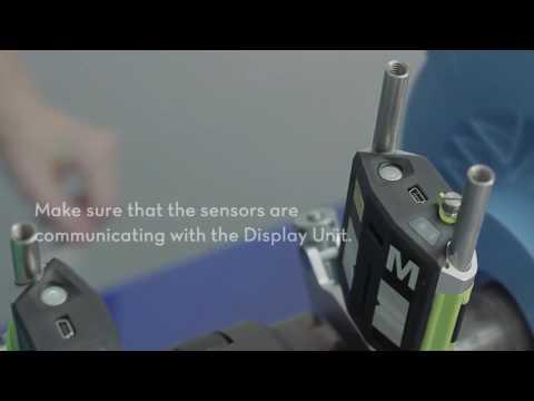Fixturlaser NXA Touch Tip   Set up