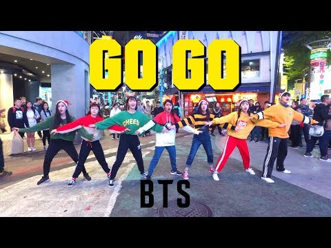 [KPOP IN PUBLIC CHALLENGE] BTS방탄소년단 '고민보다 GO (GO GO)' MERRY XMAS!! Cover by KEYME
