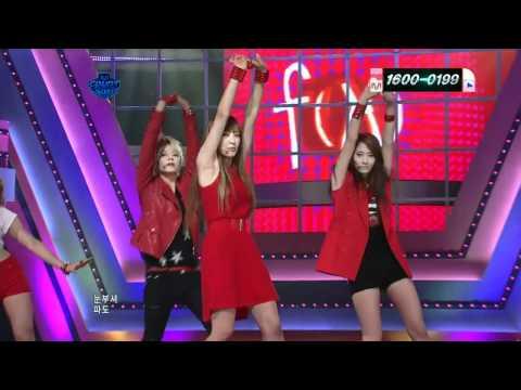 Mnet 엠 카운트다운 110623   fx 에프 엑스『Hot Summer』