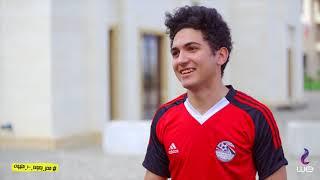 الحلقة 4 - لقاءات مع المشجعين المصريين من أمام فندق المنتخب     -