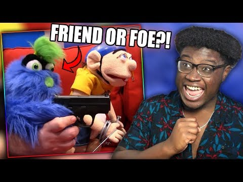 JEFFY GETS A PARTNER IN CRIME! | SML Movie: Jeffy's Imaginary Friend Reaction!