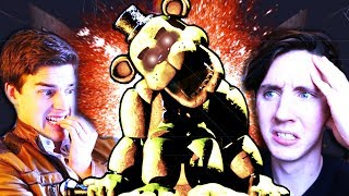 A DISCOVERY HAS BEEN MADE - GOLDEN FREDDY'S NAME! || Five Nights at Freddy's