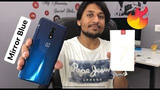 ONEPLUS 7 #MIRROR BLUE - UNBOXING & FIRST LOOK