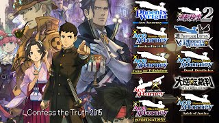 Ace Attorney: All Telling the Truth Themes 2016