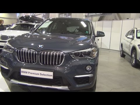 BMW X1 xDrive 20d Atlantic Grey (2016) Exterior and Interior in 3D