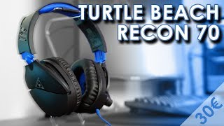 Vidéo-Test : Turtle Beach Recon 70 | TEST | Un casque PS4, Xbox One et Switch à 35? !
