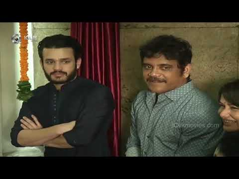 Akkineni Akhil New FIlm Launch