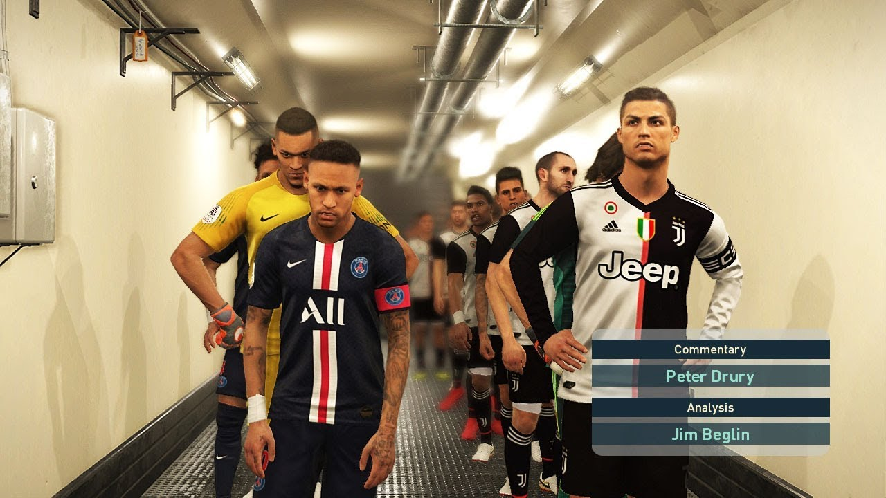 9384cb304f8 PES 2019 | Juventus Vs PSG NEW KITS 2019-2020 SEASON | Gameplay PC Views :  663 от : Jyky Football.