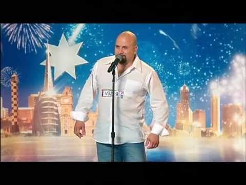 Boz The Singing Bus Driver - Australia's Got Talent 2012 audition 6 [FULL]