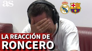 R.MADRID 2-BARCELONA 1 Roncero, al borde de las lágrimas con los dos goles | Diario AS