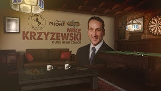 Duke Head Coach Mike Krzyzewski on The Dan Patrick Show | Full Interview | 12/1/17