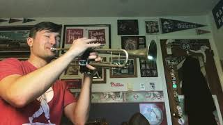 When the Saints Go Marching In (Trumpet Solo) - Big Bad Voodoo Daddy Transcription