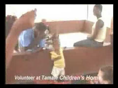 Volunteer at Tamale Children's Home
