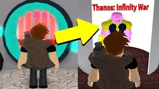 SPENDING ROBUX TO BECOME THANOS! (Roblox Avengers)