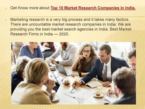 Top 10 Market Research Companies in India