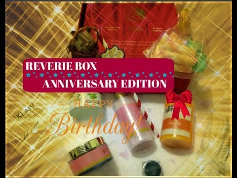 REVERIE BOX – October | Anniversary Edition | Unboxing & Review