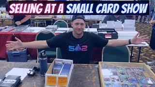 Louisville KY Sports Card Show As A Dealer!