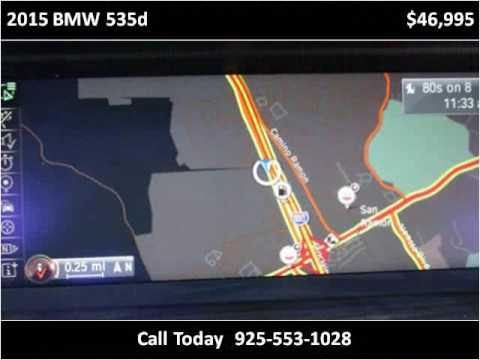 2015 BMW 535d Used Cars San Ramon CA