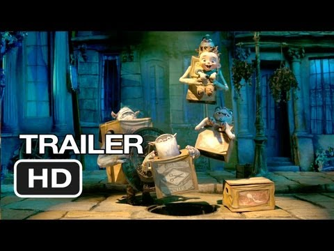 The Boxtrolls Official Trailer #1 (2013) - Simon Pegg Movie HD