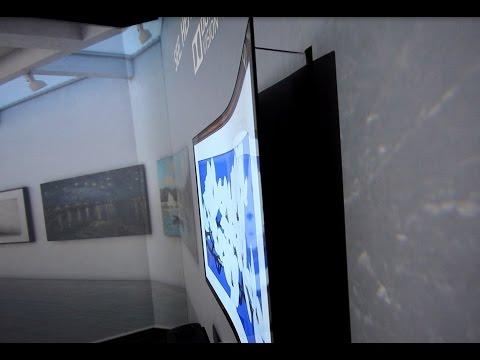 CES 2017 i Las Vegas: LG's 2,57 mm tykke TV