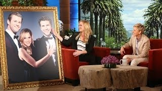 Amy Schumer's Photo with The Hemsworths