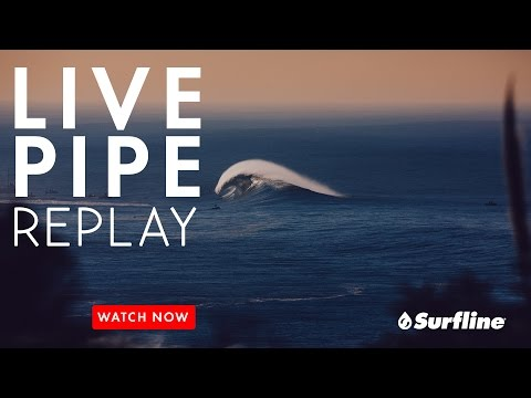 Unedited Raw Footage of Pipeline on March 13th, 2017 - Surfline Live Pipeline Session