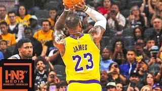 Los Angeles Lakers vs San Antonio Spurs Full Game Highlights   10.27.2018, NBA Season
