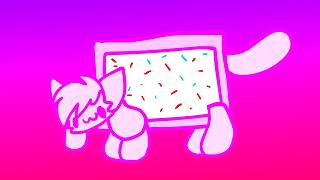 nyan kittydog (this video is a willing sacrifice)