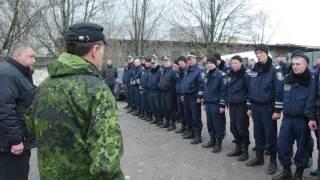 Горлівська міліція під командуванням російського підполковника