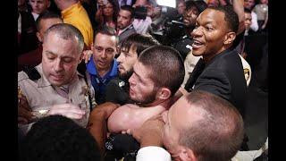 UFC 229- Khabib hạ McGregor cùng màn hỗn chiến khó tin