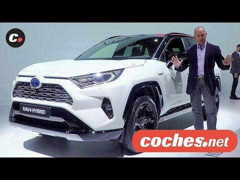 Toyota RAV4 2019 | Salón de París 2018 | Mondial de l'Auto | coches.net