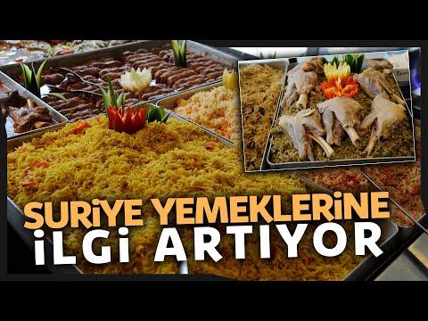 Suriye Lezzetlerine Türklerin İlgisi Artıyor
