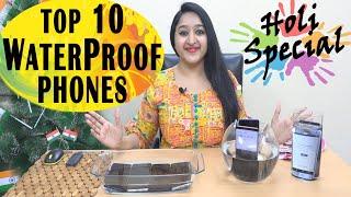 Top 10 Waterproof Phones (Rs.9999 SE Rs.109000)