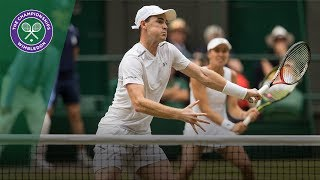 Jamie Murray/Martina Hingis v Henri Kontinen/Heather Watson highlights - Wimbledon 2017 final