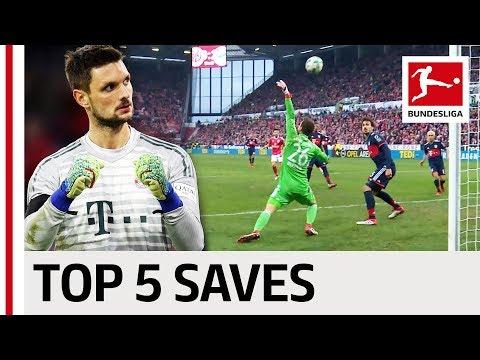 Video: Top 5 Saves - Sven Ulreich
