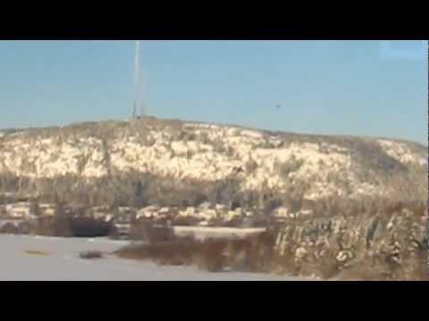 Tåg Örnsköldsvik, Train Örnsköldsvik, High Coast.MOV
