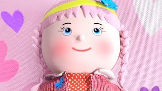 Miss Polly Had a Dolly - Cartoon Nursery Rhymes for Kids by Little Treehouse