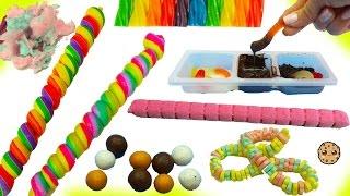 Crazy Dollar Tree Candy Haul - Crunchkins, Dirt Gummy Worms, Rainbow Lollies, Chocolate