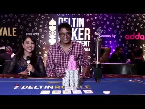 Winner of 60K High Roller at Deltin Poker Tournament powered by Adda52.com