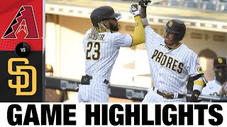 Padres homer three times in shutout win   D-backs-Padres Game Highlights 8/7/20