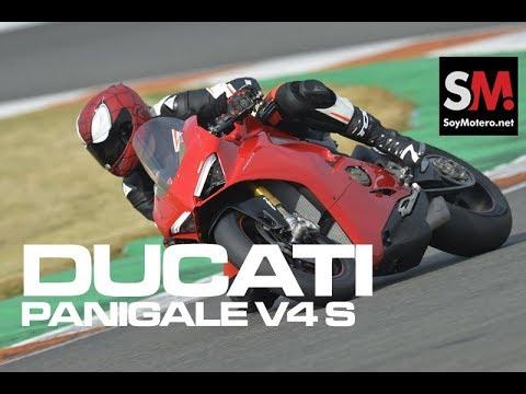 Ducati Panigale V4 S 2018: Prueba Superbike (FULLHD)
